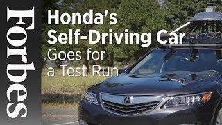 Hondas Self-Driving Car Goes For A Test Run