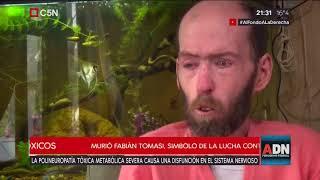 Tomás Méndez - ADN 09/09/2018 - Murió Fabián Tomasi