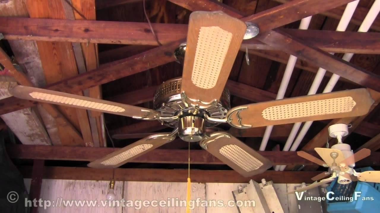 Saff Enterprise Ceiling Fan Model FH 52 Brass