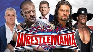 WWE Wrestlemania 32 4/3/16 Review & Results