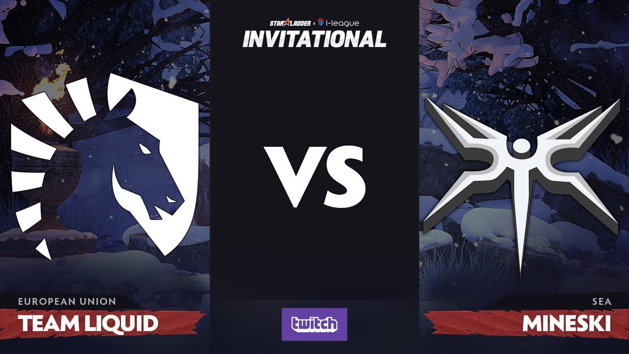 Team Liquid против Mineski, Вторая карта, Playoff SL i-League Invitational S4