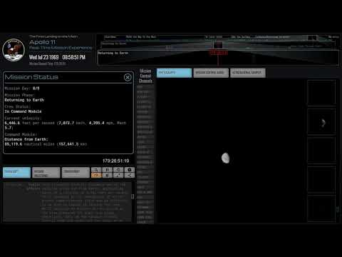 Relive the Apollo 11 Moon Landing Mission in Real Time!   Space