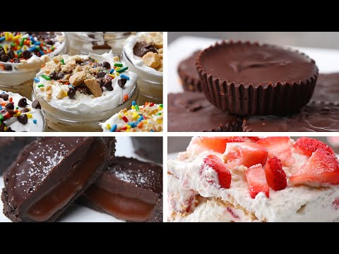 6 Incredible No-Bake Desserts
