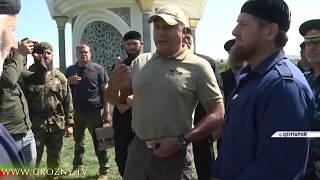 Полпред Президента РФ в СКФО Александр Матовников прибыл в Чечню почтить память Ахмат-Хаджи Кадырова