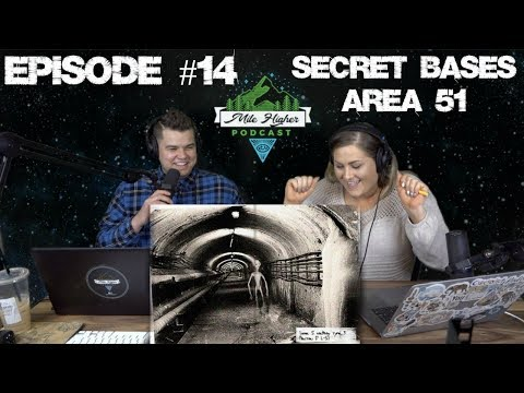 Secret Bases Area 51, Dulce Base,Underwater Base & Hart Family Mystery Crash - Podcast #14
