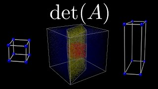 What is a determinant?(How do we interpret the determinant intuitively? Well, here is one way! This video was requested by Thecalculatorman on reddit! A few quick notes: * There are ..., 2016-07-23T22:56:08.000Z)