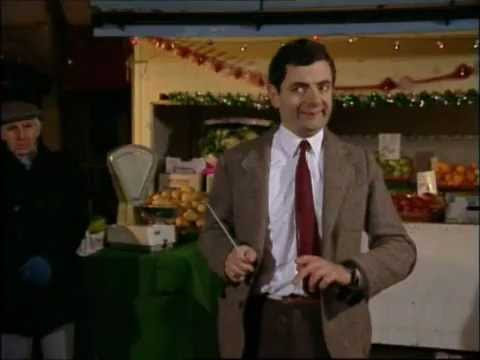 Mr. Bean conducts Christmas Orchestra