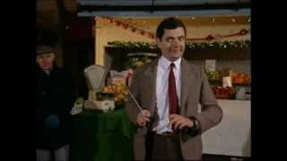 mr bean conducts christmas orchestra