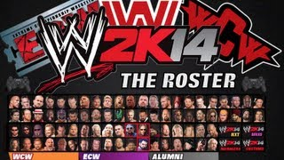 WWE2K14 Roster Concept (WWE, WCW, ECW)