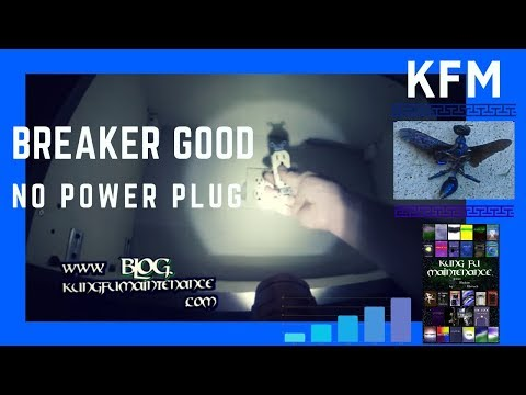 Breaker Not Tripped But No Power To Electrical Circuit Kung Fu Maintenance Repair Video