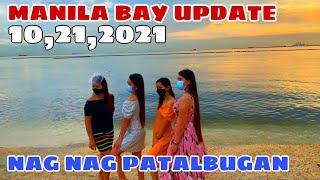 MANILA BAY KAMANDAG NG DOLOMITE BEACH! NAG PATALBUGAN NA! Miz July