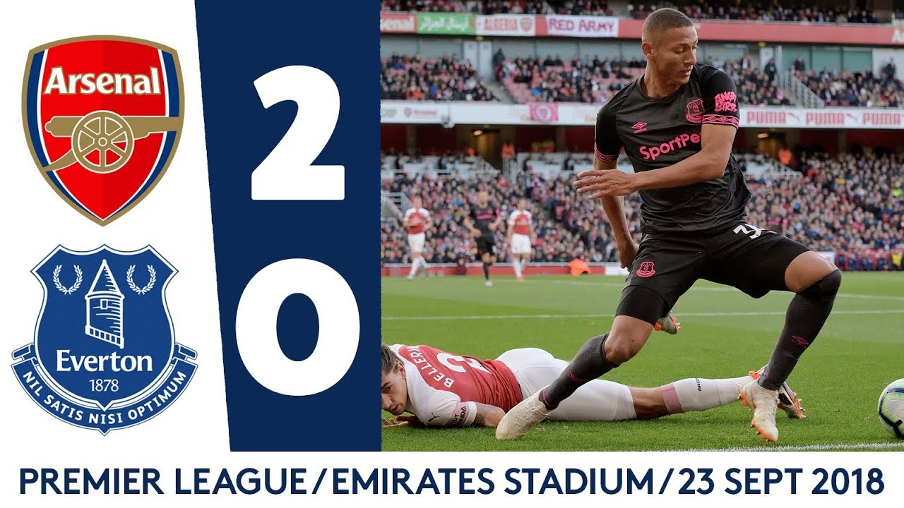 Download UNLUCKY BLUES DEFEATED AS DUO RETURN   ARSENAL 2-0 EVERTON