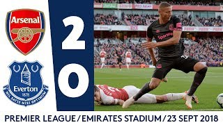 UNLUCKY BLUES DEFEATED AS DUO RETURN | ARSENAL 2-0 EVERTON