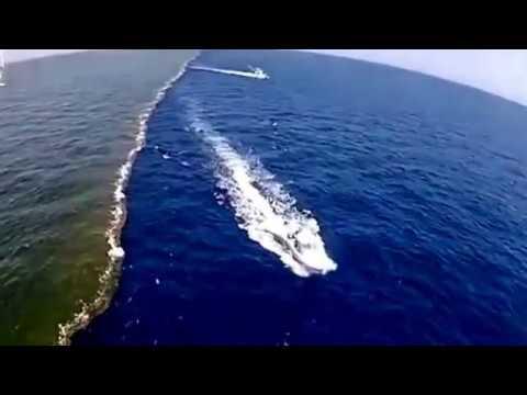2 seas that never meet again