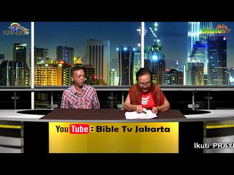 Bible Tv Jakarta: Rev. Dr. FRANCESCA KUSSOY - PRAYING AND SHARING -  08 04 2018