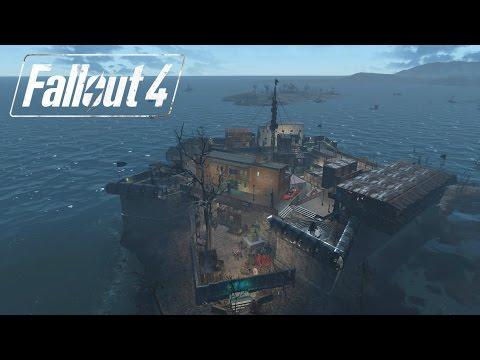 Fallout 4: Castle City Settlement Tour 3.0 (FINAL) | HUGE BUILD