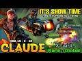 Claude: It's Show Time! - Top 1 Global Claude X LaaFii . - Mobile Legends