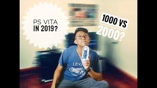 Reasons to buy PS Vita in 2019 - PS Vita 1000 vs PS Vita 2000