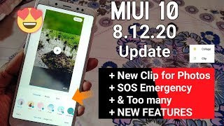 MIUI 10 8.12.20 Update   9+ New Features & Bugs Fixed   Download Link