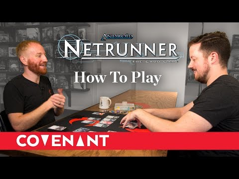 Learning Netrunner: How To Play Android: Netrunner (Revised Core Set)