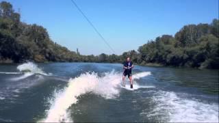 Wake 2 wake short rope - how to wakeboard