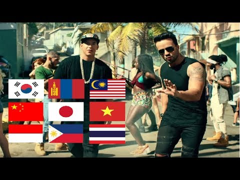 Despacito in 10 East Asian Languages!