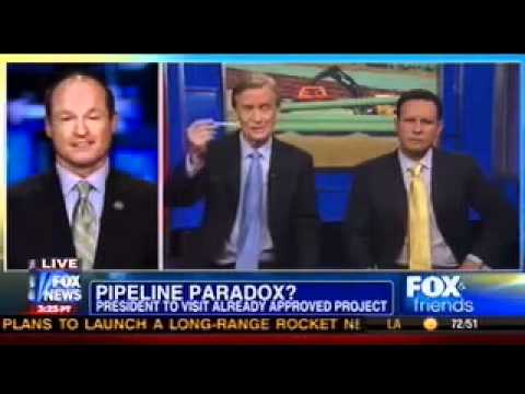 Rep Sullivan talks Keystone XL on Fox and Friends