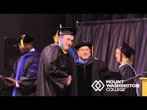 2014 Mount Washington College Graduation for Bachelor of Science - Business Admin - Marketing (DP)