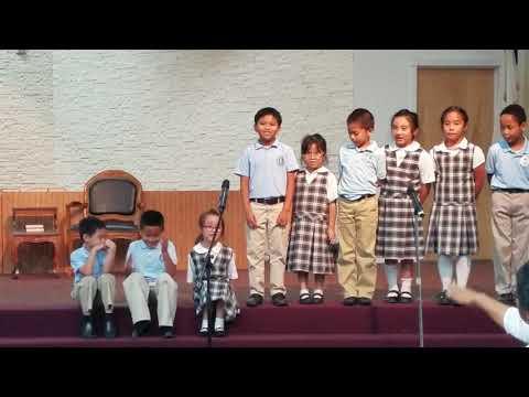 Do Re Mi performance by the Faithful Ambassadors Bible Baptist Academy 1st-2nd graders