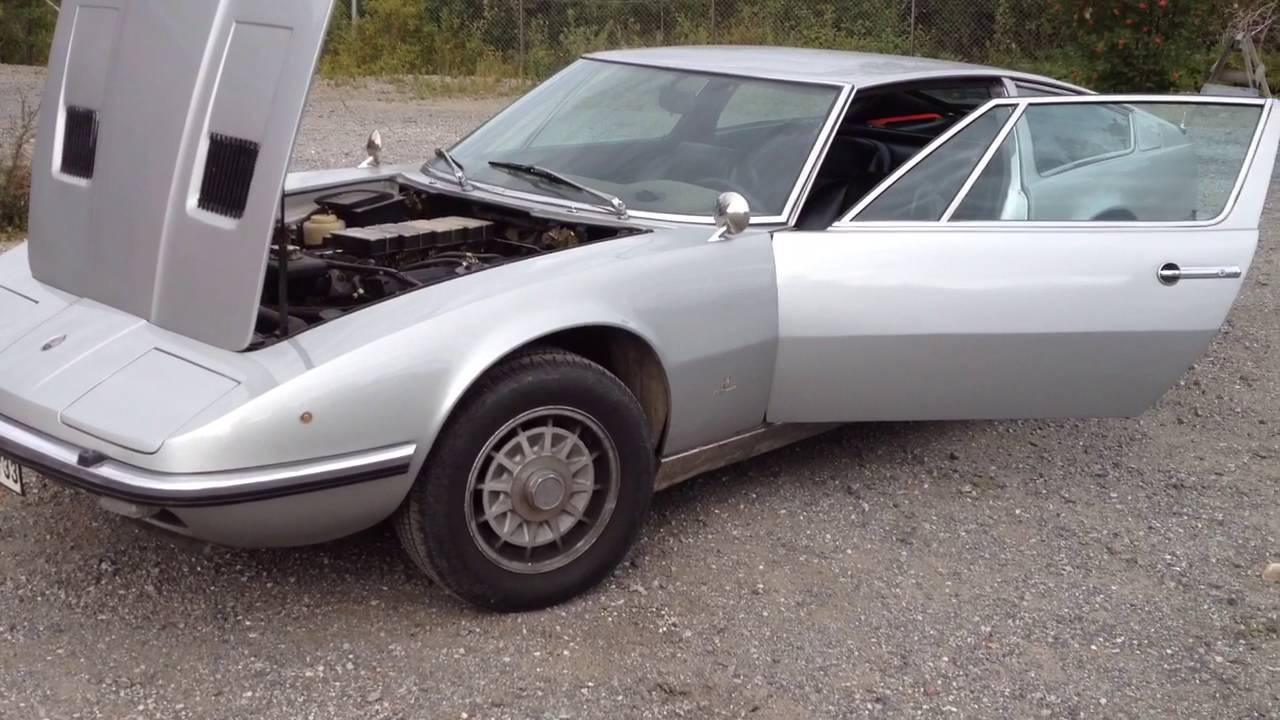 Maserati Indy 4900 Argento - YouTube