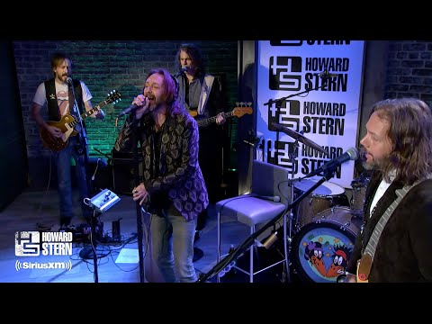 """The Black Crowes """"Jealous Again"""" on the Howard Stern Show"""