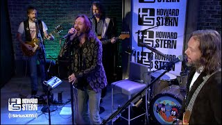 "The Black Crowes ""Jealous Again"" on the Howard Stern Show"