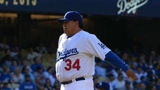 Valenzuela handles Henderson on Old Timers