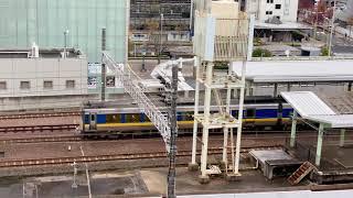 キハ126系4両編成(コナン列車+山陰海岸ジオライナー)