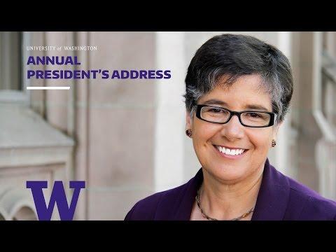 2015 UW President's Address
