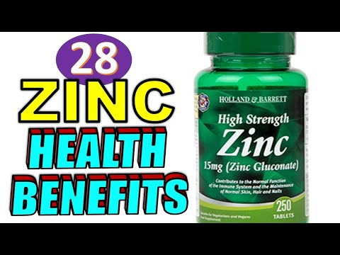 28 Amazing Health Benefits of ZINC for Men & Women on The Human Body