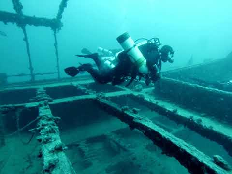 [2D] Wreck of the Lina: Tek-Weekend Mošćenička Draga, Croatia, August 2016