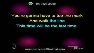 Waylon Jennings This Time - Karaokê