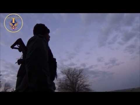 [3] Reportage with MFS fighters during a night guard in Khabour region.