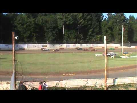 4 Cylinder racing at River City Speedway #3 7/7/12 (Heat #2)