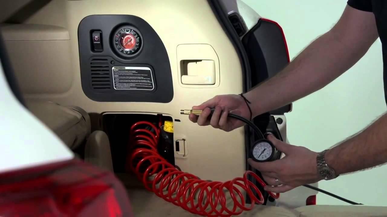 مكينة الهواء الكومبروسير لسيارات اللاندكروزر Youtube