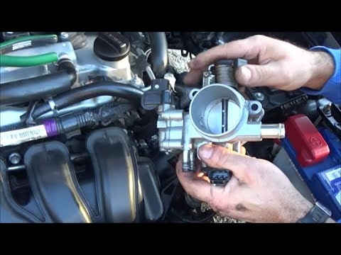 2007-2013 Toyota Corolla How to Clean the Throttle Body and the Idle Air Control Valve PART I