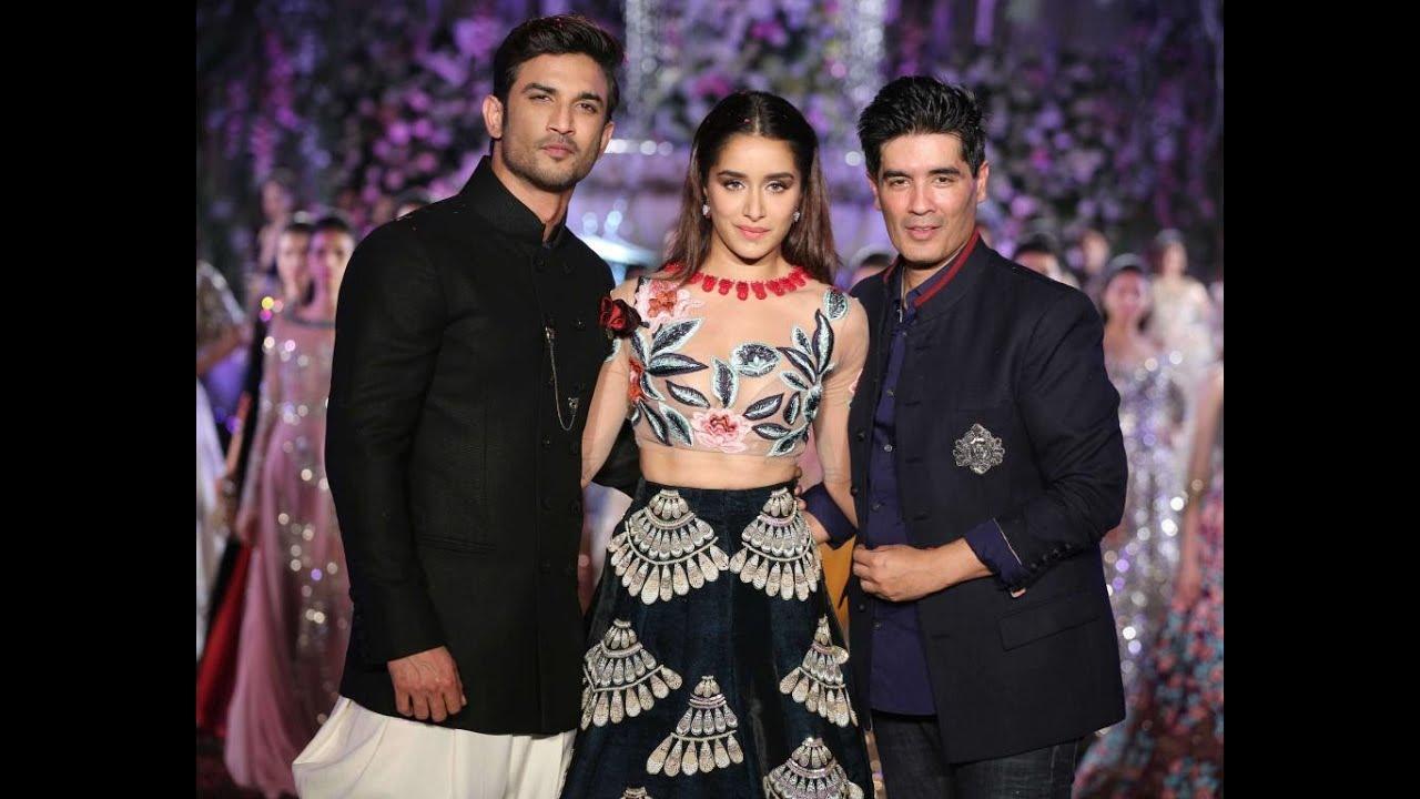 Shraddha Kapoor & Sushant Walk for Manish Malhotra | Lakmé Fashion Week  2016 | Full Show