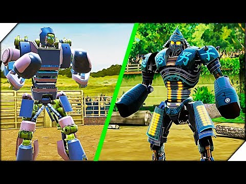 ПРЕВОСХОДСТВО ЗЛЫХ РОБОТОВ - Игра Real Steel World Robot Boxing прохождение # 3 Живая сталь игра.