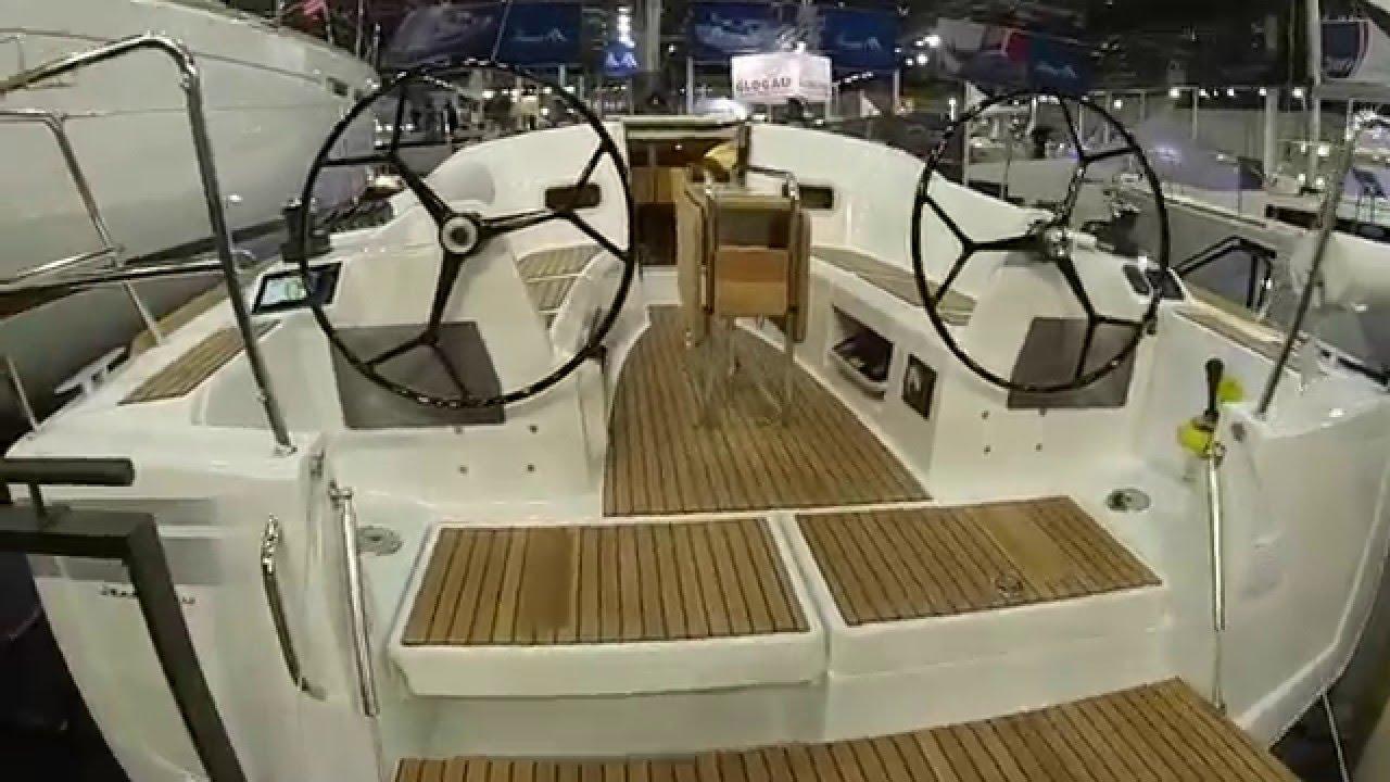 Jeanneau Sun Odyssey 349 Lifting Keel Boat Show Dusseldorf 2016