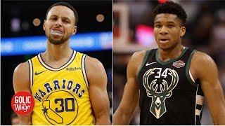 Who would win a Warriors vs. Bucks NBA Finals?   Golic & Wingo