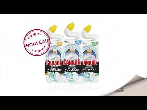 Canard® Extra Power Gel Javel Moussant: Des toilettes désinfectées, parfaitement propres et fraîches