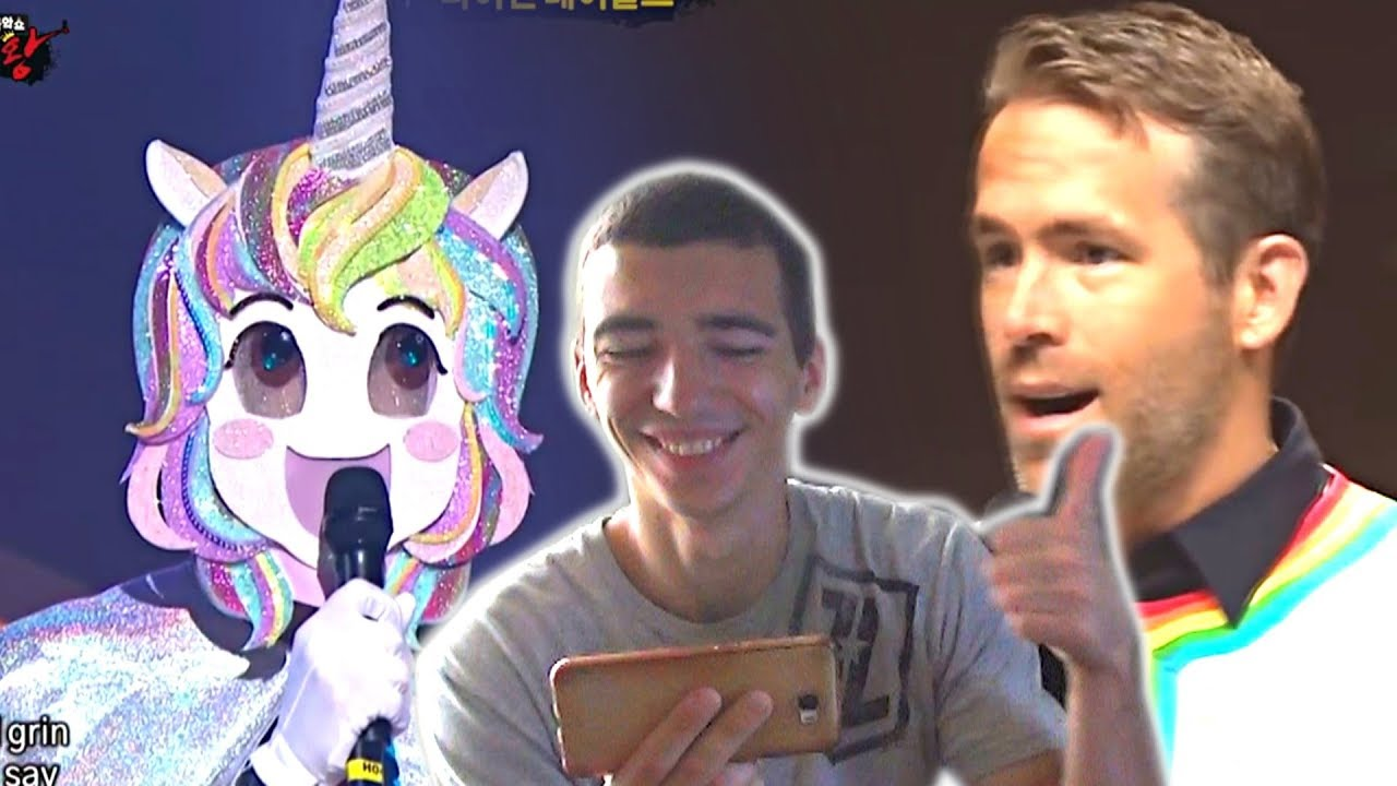 [King of masked singer]복면가왕-'unicorn'[Ryan Reynolds] special  performance-Tommorrow||RUSSIAN REACTION