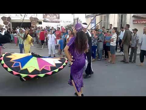 مهرجان الثقافة والرقص التقليدي في تونس قرمبالية Tunisia Traditional Dance