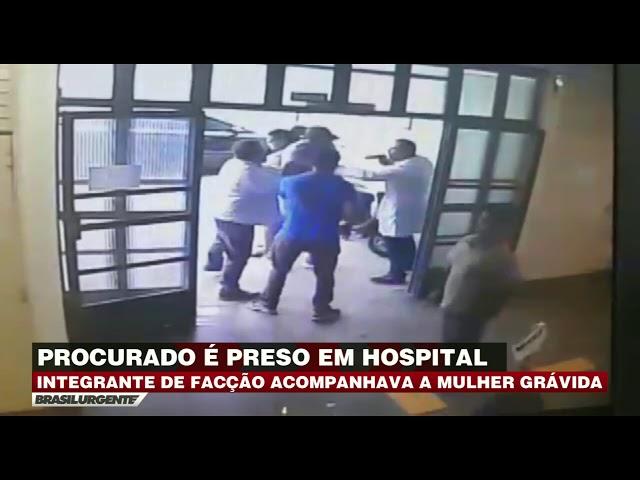 Integrante de facção criminosa é preso em hospital de SP